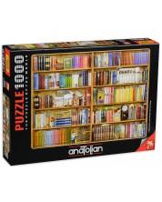 Puzzle Anatolian de 1000 piese - Biblioteca, Barbara Behr
