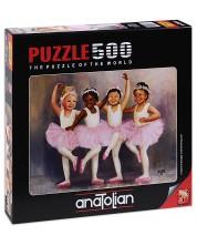 Puzzle Anatolian de 500 piese - Micutele balerine, Diane Dengel