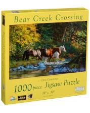 Puzzle SunsOut de 1000 piese - Traversand golful Ursului, Chris Cummings