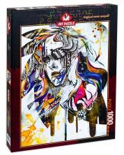 Puzzle Art Puzzle de 1000 piese - Blues, Minjae Lee