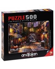 Puzzle Anatolian de 500 piese - Staduta in Franta, Dominic Davison
