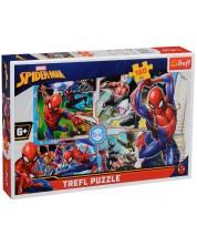 Puzzle Trefl de 160 piese - Spiderman, Salvarea