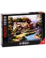 Puzzle Anatolian de 1000 piese - Casa Ttaraneasca cu ratuste, Sung Kim