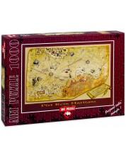 Puzzle Art Puzzle de 1000 piese - Harta geografica, Zafer Kizilkaya