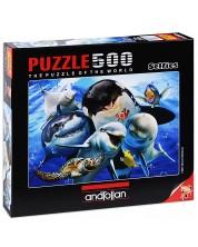 Puzzle Anatolian de 500 piese - Ocean Selfie, Howard Robinson