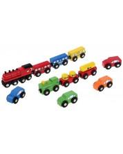 Set vehicule Woody - Masinute si trenulete -1