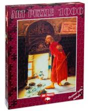 Puzzle Art Puzzle de 1000 piese - Antrenorul de testoasele, Osman Hamdi Bey