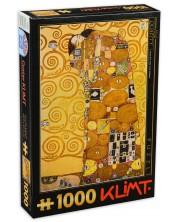 Puzzle D-Toys de 1000 piese - Gustav Klimt, The Hug -1