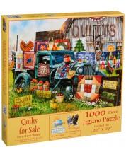 Puzzle SunsOut de 1000 piese - Paturi pentru vanzare, Tom Wood