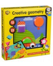 Set de joaca Happy Toys - Geometrie creativa -1