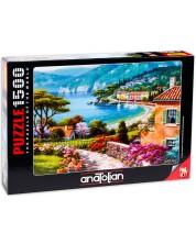 Puzzle Anatolian de 1500 piese - Pe malul lacului, Sung Kim