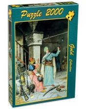 Puzzle Gold Puzzle de 2000 piese - Comerciant de arme