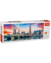 Puzzle panoramic Trefl de 500 piese - Big Ben, Londra