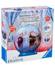 Puzzle 3D Ravensburger de 72 piese - Regatul de gheata 2