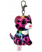 Breloc TY Beanie Boos - Leopard colorat Dotty -1