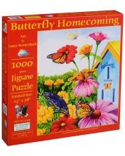 Puzzle SunsOut de 1000 piese - Intoarcerea fluturilor, Nancy Wernersbach