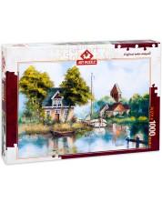 Puzzle Art Puzzle de 1000 piese - Din nou acasa, Rent Withar