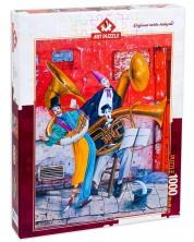 Puzzle Art Puzzle de 1000 piese - Sufletul muzicii, Marek Brzozowski