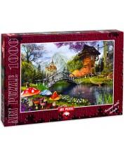 Puzzle Art Puzzle de 1000 piese - Vechae casa cu forma de pantof, Dominic Davison