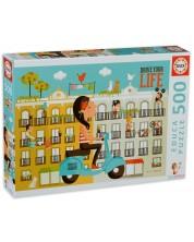 Puzzle Educa de 500 piese - Controleaza-ti viata