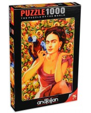 Puzzle Anatolian de 1000 piese - Frida, Serhat Filiz