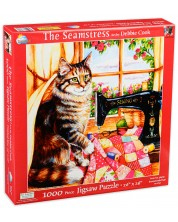 Patrat puzzle SunsOut de 1000 piese - Croitoreasa, Debi Cook