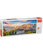 Puzzle panoramic Trefl de 500 piese - Acropola, Atena