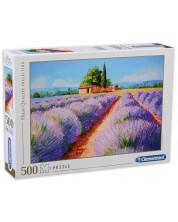 Puzzle Clementoni de 500 piese -Lavender Scene