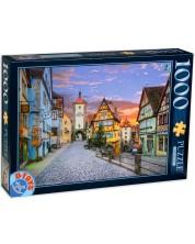 Puzzle D-Toys de 1000 piese - Rothenburg, Germania