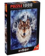 Puzzle Anatolian de 1000 piese - Haita de lupi, Stephen Gardner