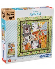 Puzzle Clementoni Frame Me Up de 60 piese - Frame Me Up Disney Animal Friends