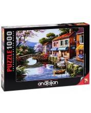 Puzzle Anatolian de 1000 piese - Magazin antic, Sung Kim