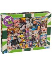 Puzzle Gibsons de 1000 piese - Spiritul anilor 80, Robert Opie