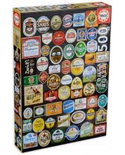 Puzzle Educa de 1500 piese - Etichete sticle bere