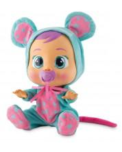 Papusa bebe plangacios cu lacrimi  IMC Toys Cry Babies - Lala, soricel
