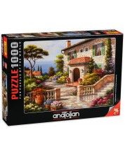 Puzzle Anatolian de 1000 piese - Villa Delle Fontana, Sung Kim