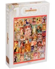 Puzzle Step Puzzle de 1000 piese - Art Nouveau