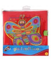 Jucarie pentru bebelus Galt - Carte moale -1