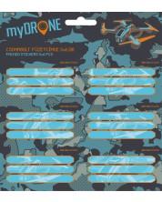 Etichete scolare Ars Una My Drone - 18 bucati -1
