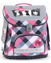 Ghiozdan scolar Ars Una Think Pink - Compact