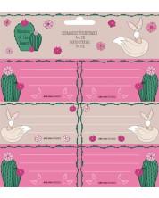 Etichete scolare Ars Una Wonderful Desert - 18 bucati -1