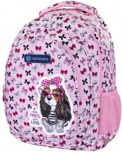ASTRA 502021562 Rucsac scolar AB330, Sweet Dog With Bows
