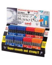 Set mine din grafit pentru creion automat Uniball Nano Dia – 96 cutii -1