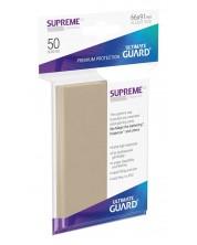 Protectii Ultimate Guard Supreme UX Sleeves - Standard Size - Culoarea nisipului (50 buc.)