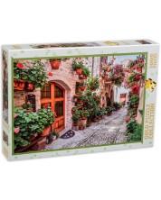 Puzzle Gold Puzzle de 1000 piese - Strada in Italia