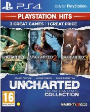 Uncharted: The Nathan Drake Collection - pachet de la 3 jocuri (PS4)