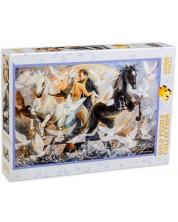 Puzzle Gold Puzzle de 2000 piese - In cercul senzatiilor naturale