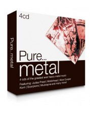 Various Artists - Pure... Metal (4 CD)