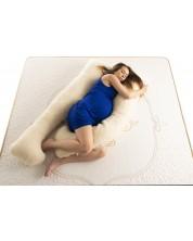 Perna pentru gravide Medico- Happy Mom Organic Wool, in forma de U -1
