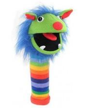 Papusa-ciorap The Puppet Company - Monstrul ciorap Curcubeu
